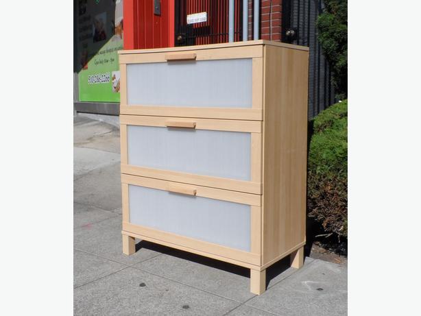 Ikea Aneboda Dresser and Nightstand Set